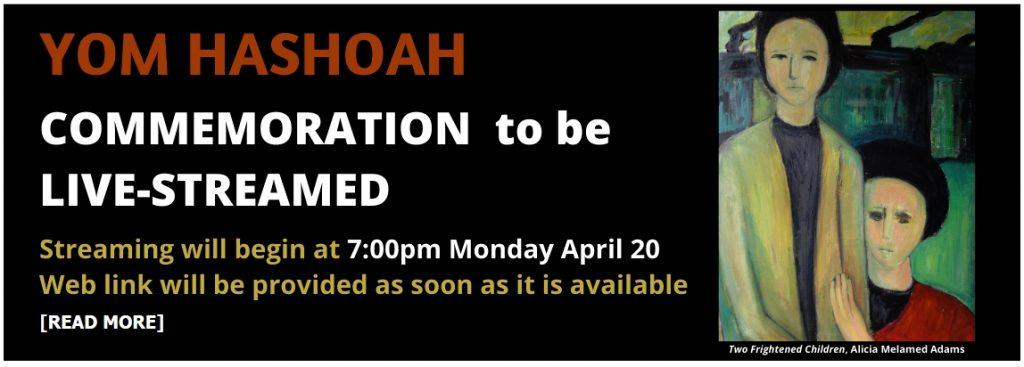live-stream Yom Hashoah
