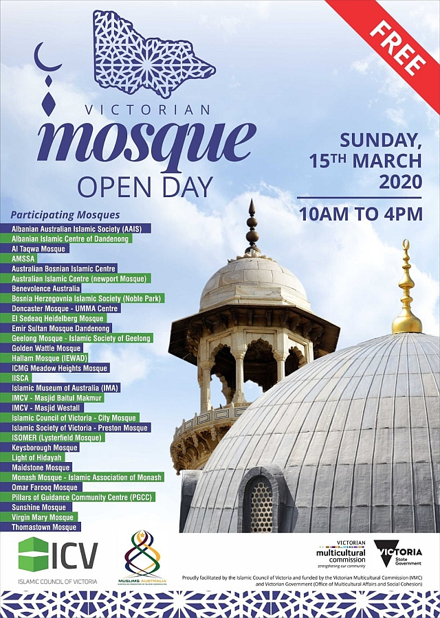 Victorian Open Mosque Day 2020