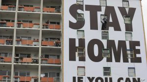 Stay Home Billboard, Cape Town