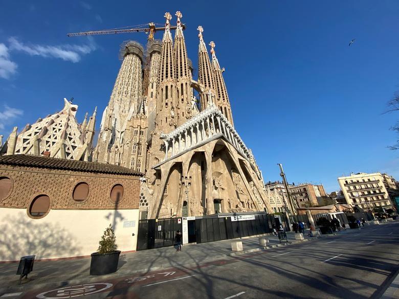 Sagrada Familia basilica, Barcelona, Spain