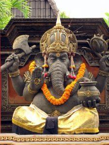 Ganesh idol in Bali