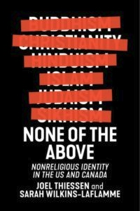 Book Cover - None of the Above