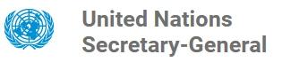 UN Secretary General logo