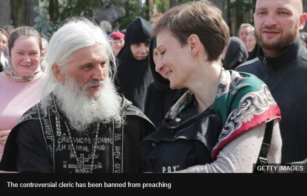 Father Sergei Romanov - the controversial priest