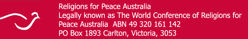 Religions for Peace Australia data