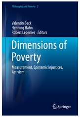 Book Cover - Dimensions of Poverty