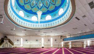Lockdown: Lakemba Mosque, Sydney, NSW