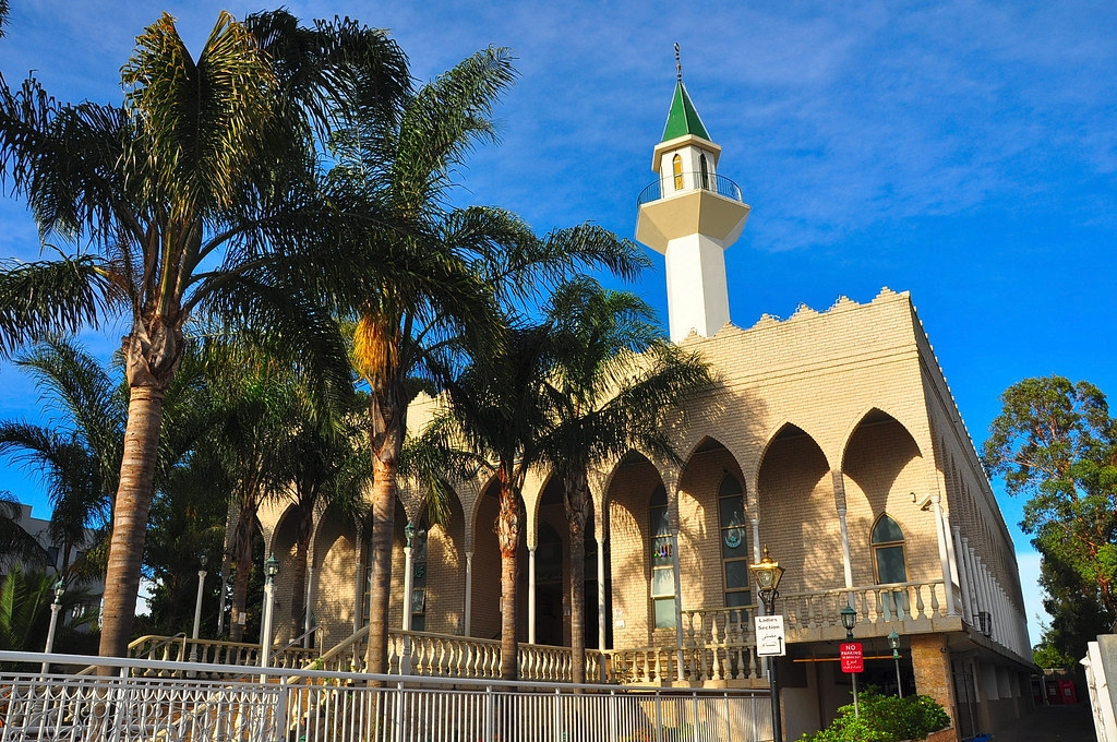 Lakemba Mosque, NSW -- view from the street