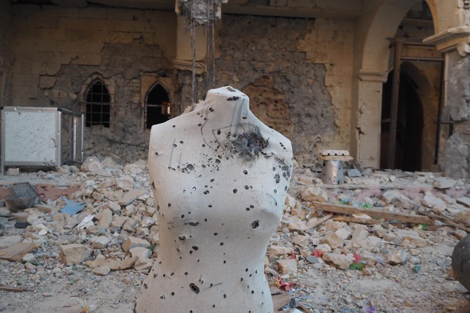 'Daesh' Shooting range'
