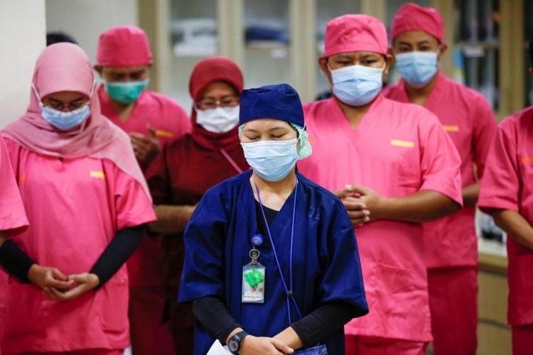Healthworkers in Indonesia
