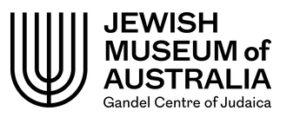 Jewish Museum of Australia logo