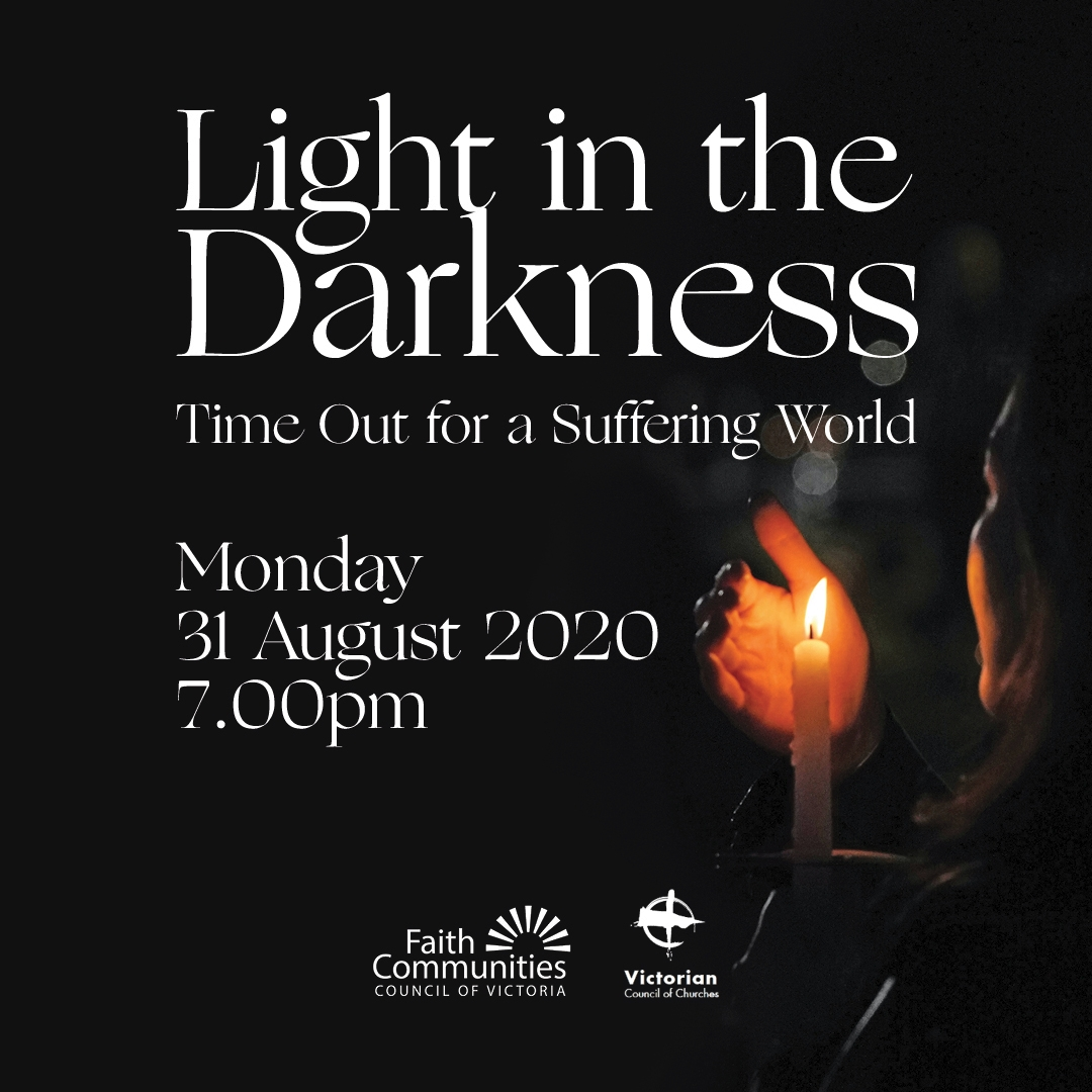 Light in the Darkness ~ Time Out for a Suffering World