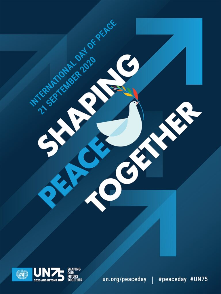 Shaping peace together