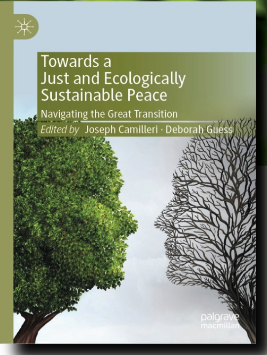 Book Cover: Towards a Just and Ecologically Sustainable Peace