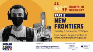 Equality Talks - New Frontiers