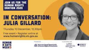 Human Rights Oration 2020 - Julia Gillard