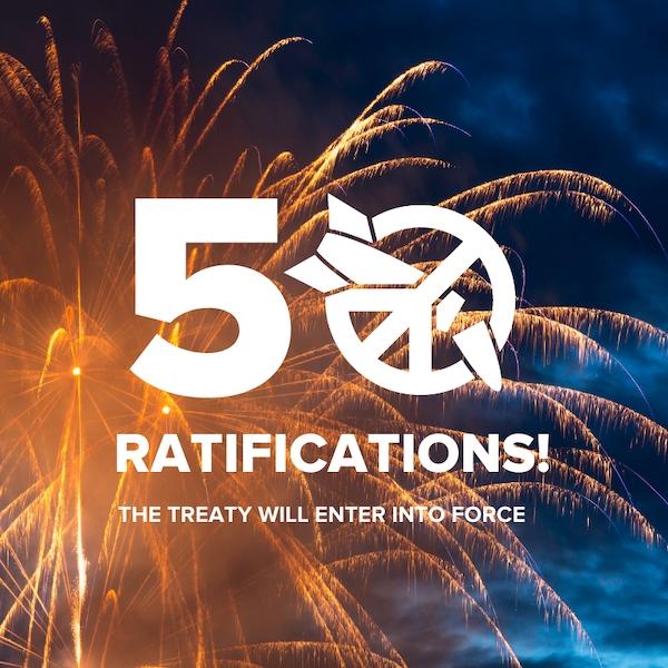 50 ratifications