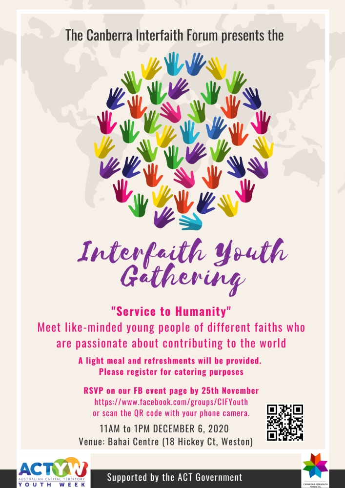 Interfaith Youth Forum Canberra