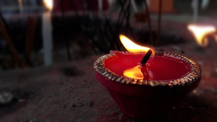 Divya lamp at Diwali