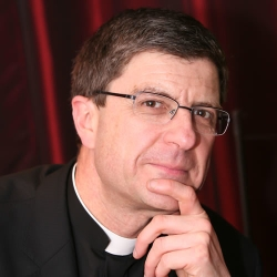 Archbishop Eric de Moulins-Beaufort, president of the French Bishop's Conference