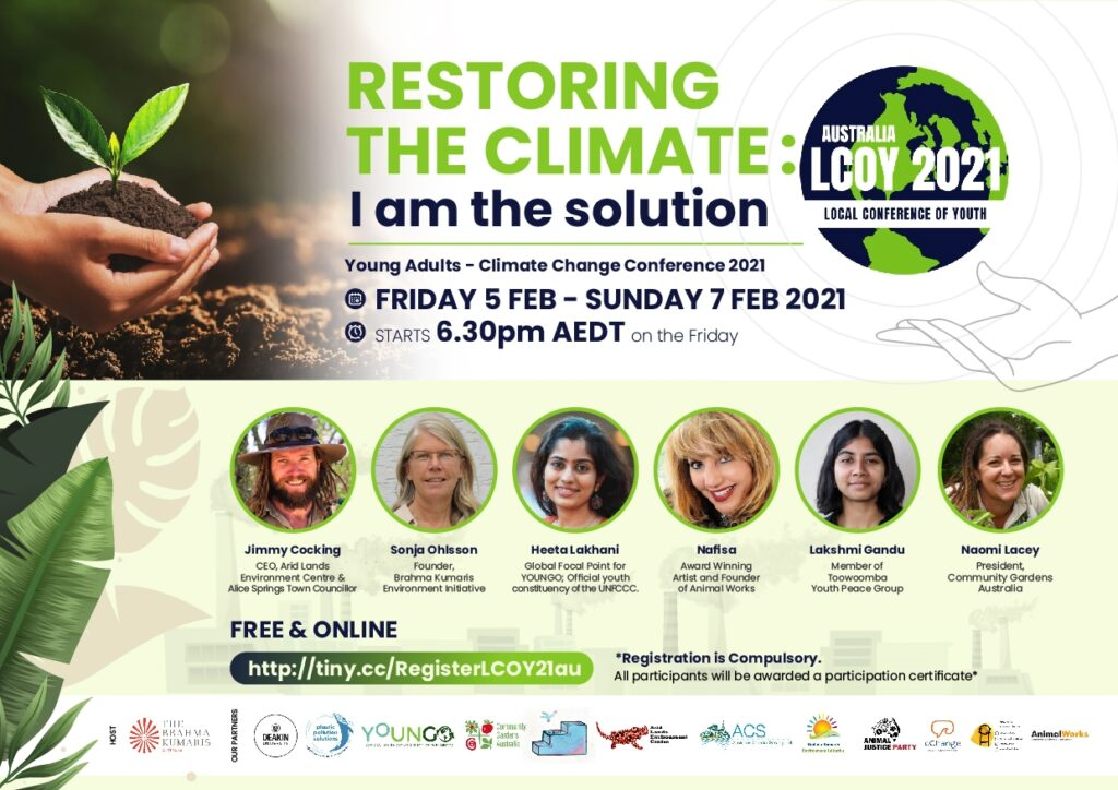 Young Adults - Climate Change Conference 2021