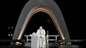 Pope Francis at Hiroshima