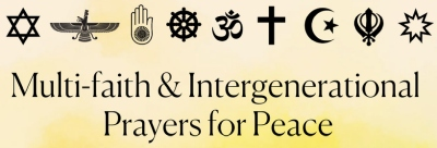Multi-faith & Intergenerational Prayers for Peace in 2021