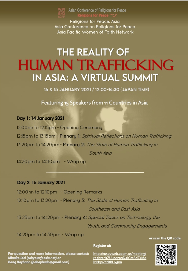 Virtual Conference - reality of Human Trafficking