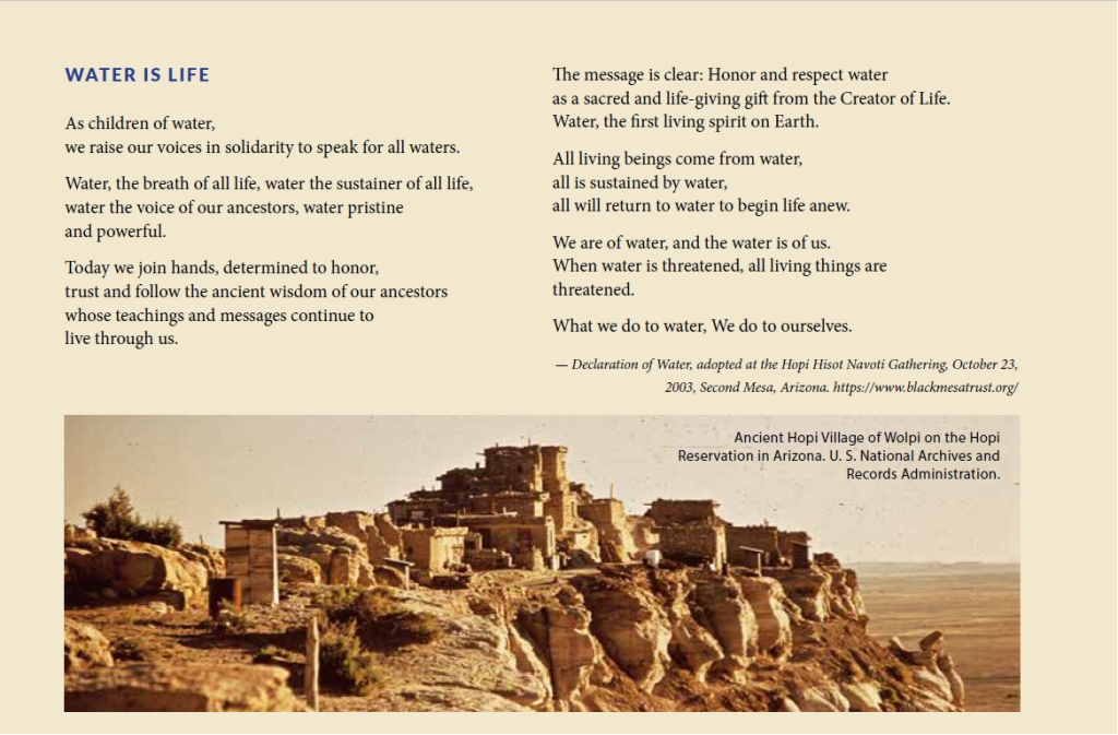 Children of Water poem