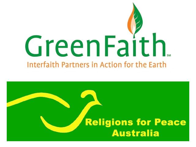 Greenfaith Logo - Religions for Peace Australia Logo