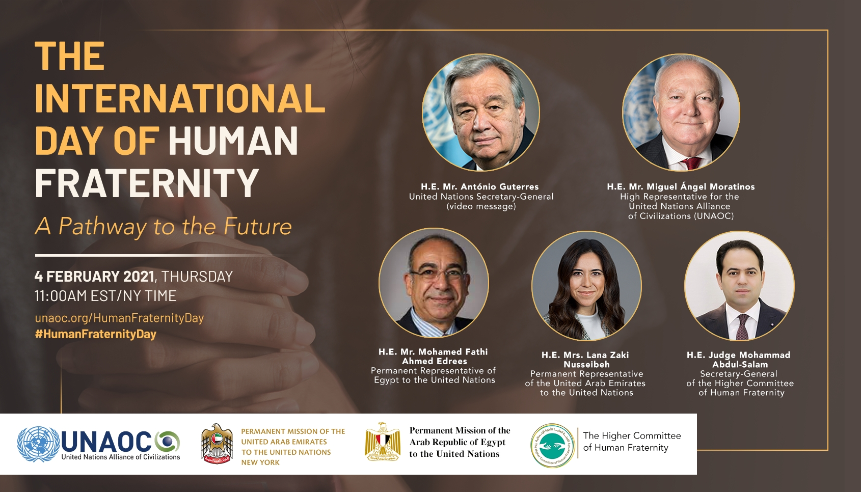 The International Day of Human Fraternity: A Pathway to the Future