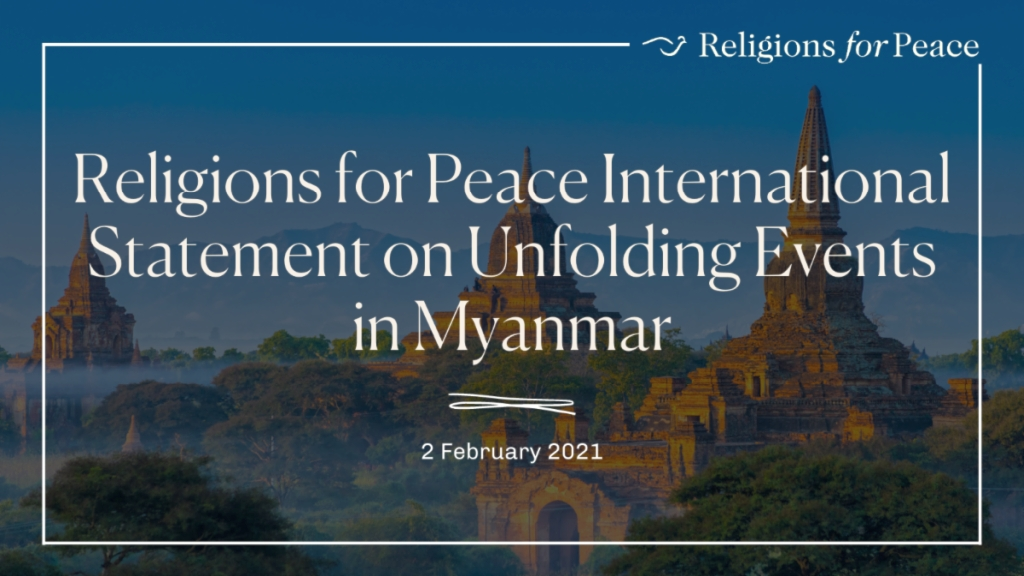 International Statement on Unfolding Events in Myanmar