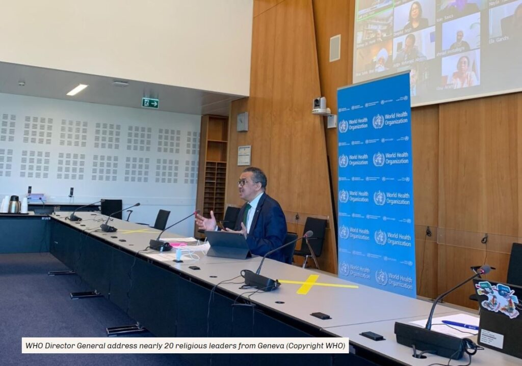 Dr Tedros Meeting with Religious Leaders