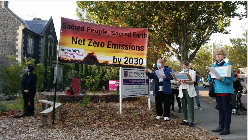 St Phillips Anglican Church Collingwood rings the bells for Sacred People - Sacred Earth