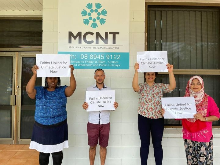 Faith Communities of the Northern Territory support Sacred People - Sacred Earth