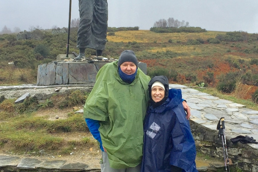 Luke Mills on the Camino de Santiago in Spain