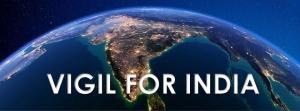 Vigil for India