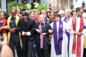 Clergy against racism