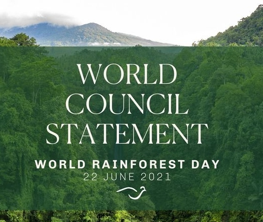 Religions for Peace World Council Statement on World Rainforest Day