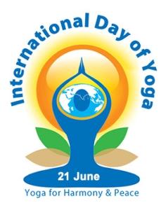 International Day of Yoga - United Nations Logo