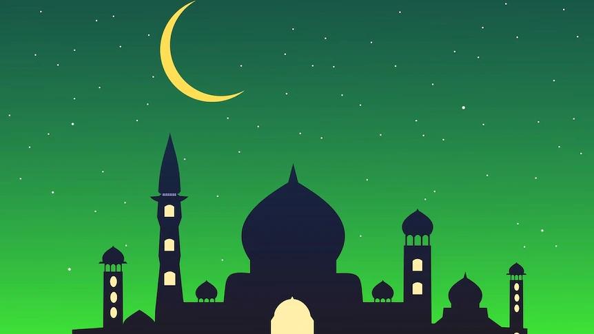 """Eid Mubarak = """"Blessed Eid"""